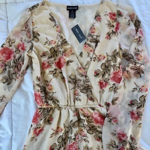 Wet Seal Dresses - Floral Romper